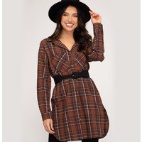 Button Down Checkered Shirt