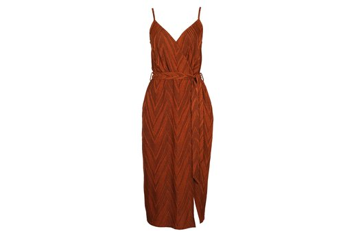 Mink Pink Strappy Wrap Dress