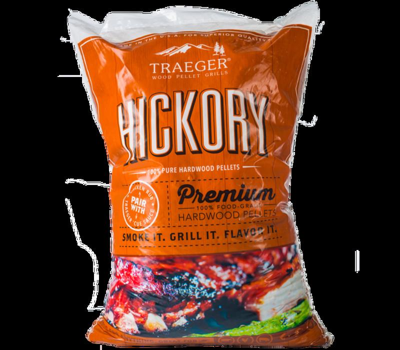 Hickory Pellets Bi-Lingual 20lb