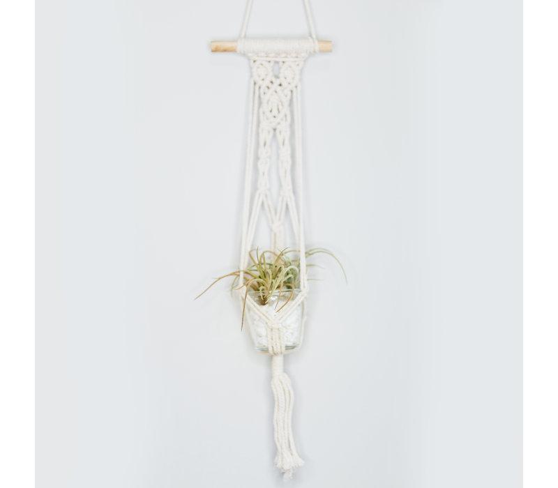 Boho Macrame Hanging Vase