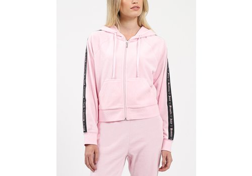 Brunette The Label x Juicy Couture Juicy Velour Zip Up Hoodie