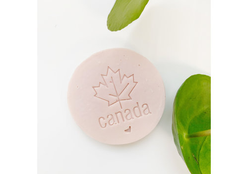 Pukalily Goat Milk Bar Hibiscus Rosehip Pink Canada Stamp