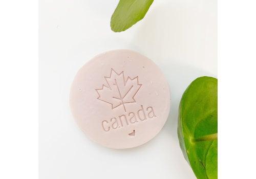 Pukalily Goat Milk Bar Hibiscus Rosehip Pink Canada Stamp