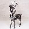 "Regency Resin Standing Deer Glitter and Metallic 13"""