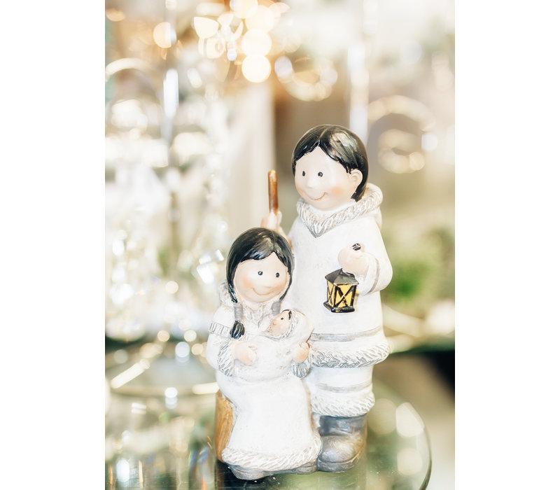 Inuit Holy Family