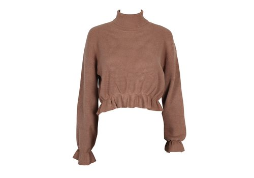 Mink Pink All My Friends Frill Jumper