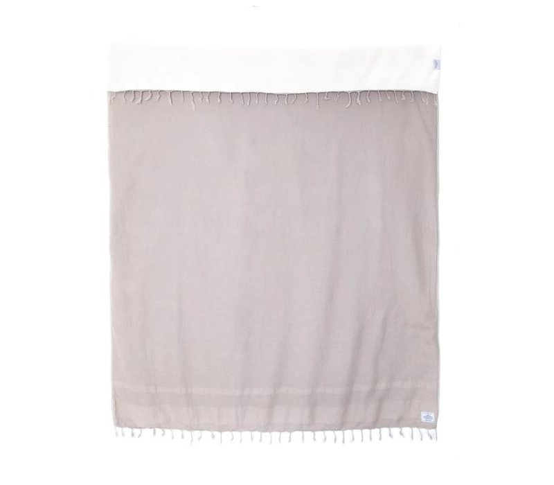 The Shore Washed Waffle Throw