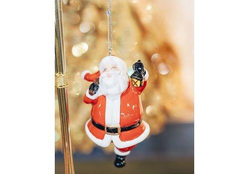 Ganz Santa Ornament