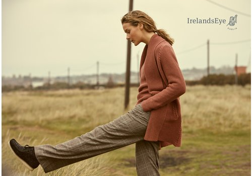 Irelands Eye Knitwear Sutton Links Cable Cardigan