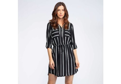 Dex Vertical Stripe Dress