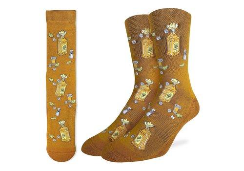 Good Luck Sock Men's Tequila Bottles Socks