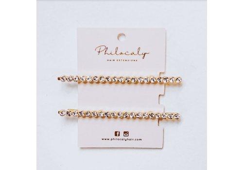 Philocaly Rhinestone Pins