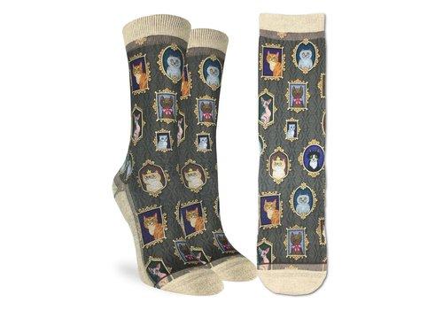 Good Luck Sock Women's Prized Cats Socks
