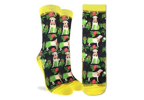 Good Luck Sock Women's Hula Labrador Retriever Socks