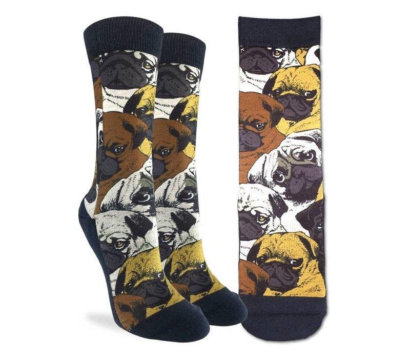 Women's Social Pugs Socks