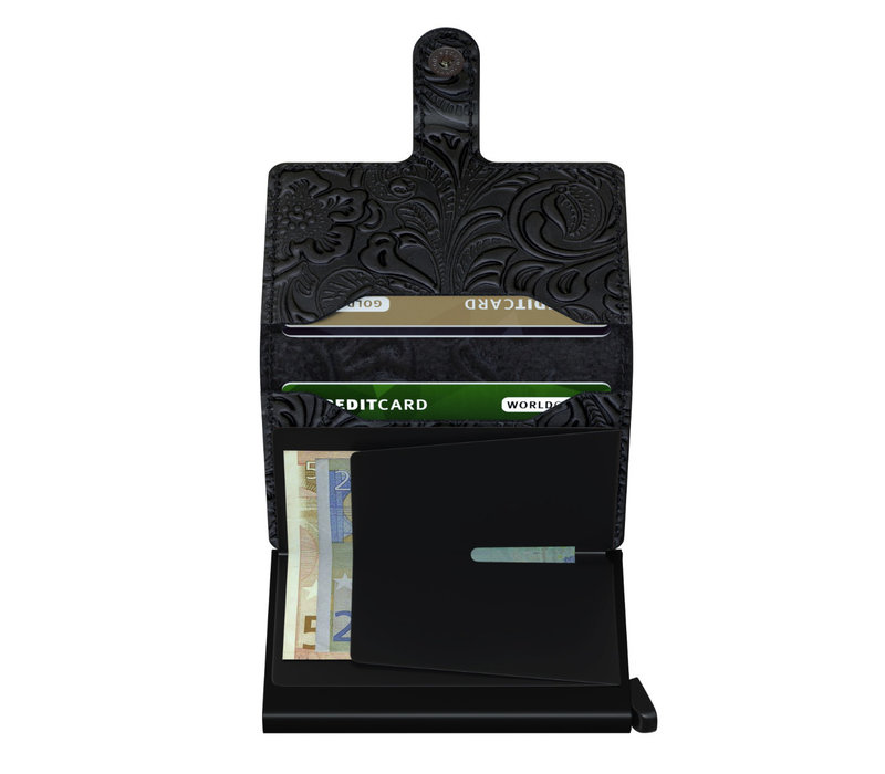 Mini Wallet Ornament Black