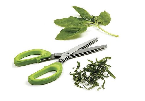 Triple Blade Herb Scissors