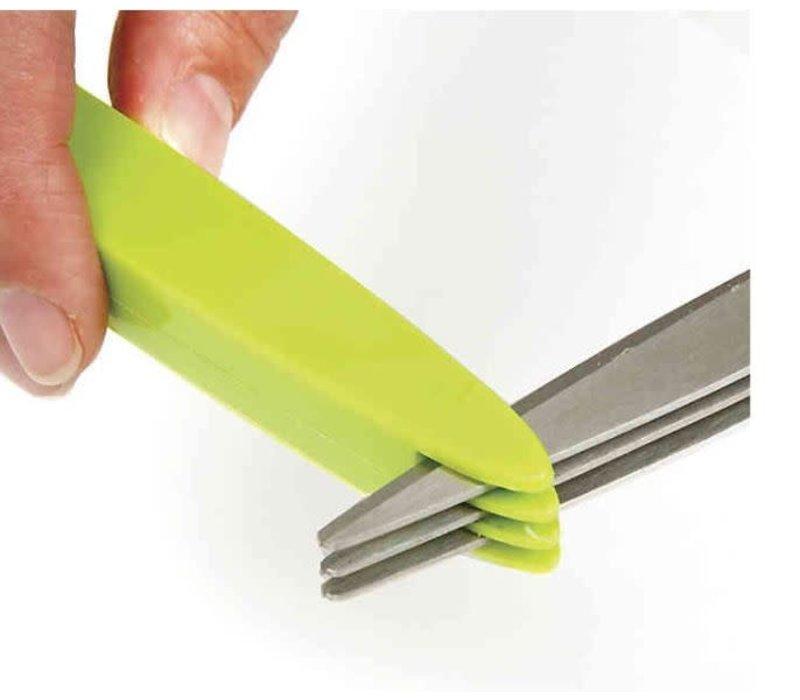 Triple Blade Herb Scissors