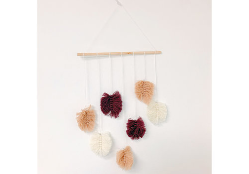 Kaemingk Cotton Leaf Mobile