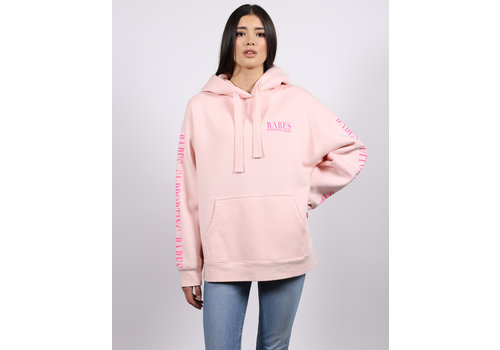 Brunette The Label Babe Supporting Babes Big Sister Hoodie