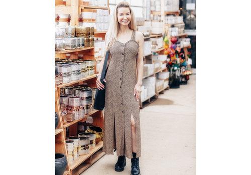Dex Dot Print Maxi Dress