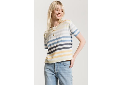 Z Supply The Rainbow Stripe Tee