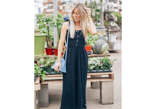 Mink Pink Kyla Shirred Jumpsuit