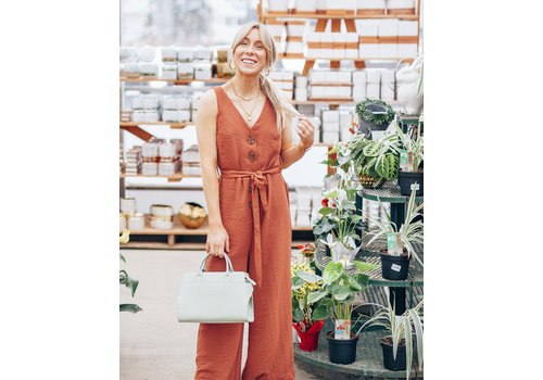 Dex V-Neck Jumpsuit