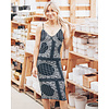 Dex Paisley Knee Length Dress