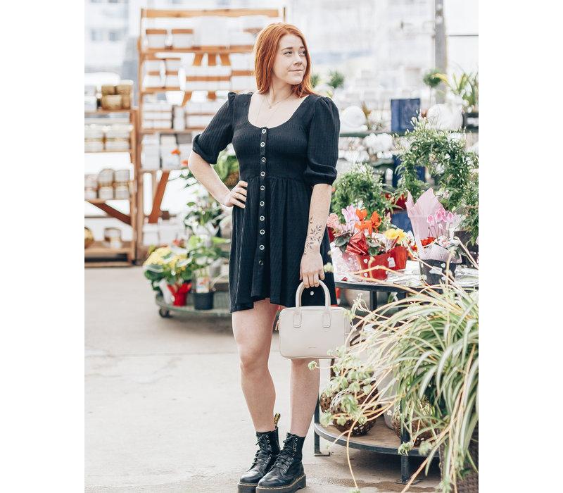 Kyla Shirred Bodice Dress