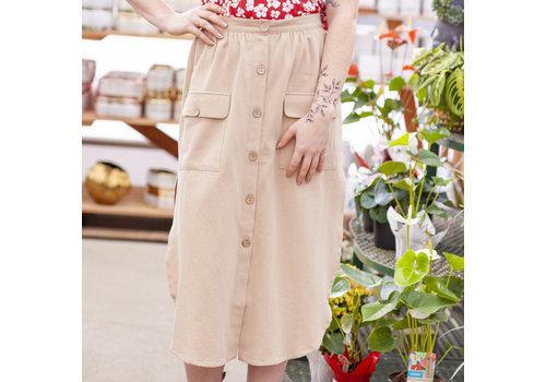 Mink Pink Utility Midi Skirt