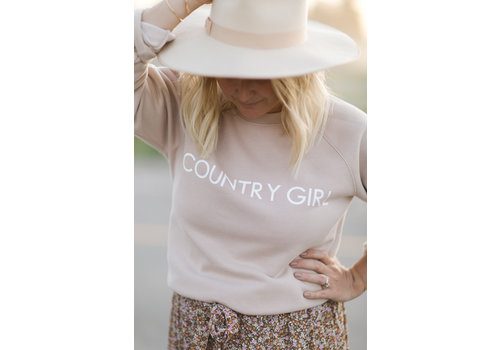 Brunette The Label Country Girl Crew