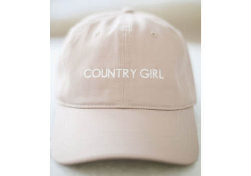 Brunette The Label Country Girl Dad Cap