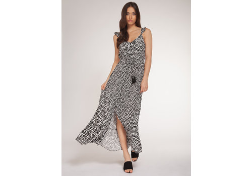 Dex Floral Button Front Maxi Dress