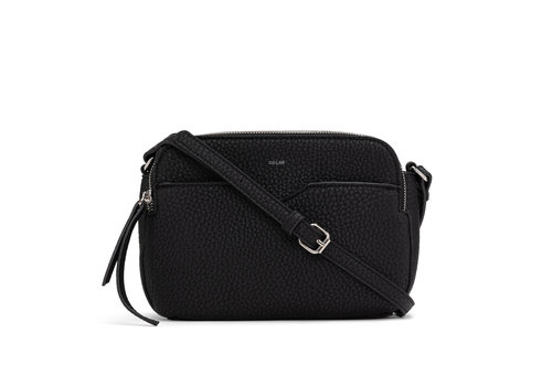 Co-Lab Double Crossbody Pebble PU
