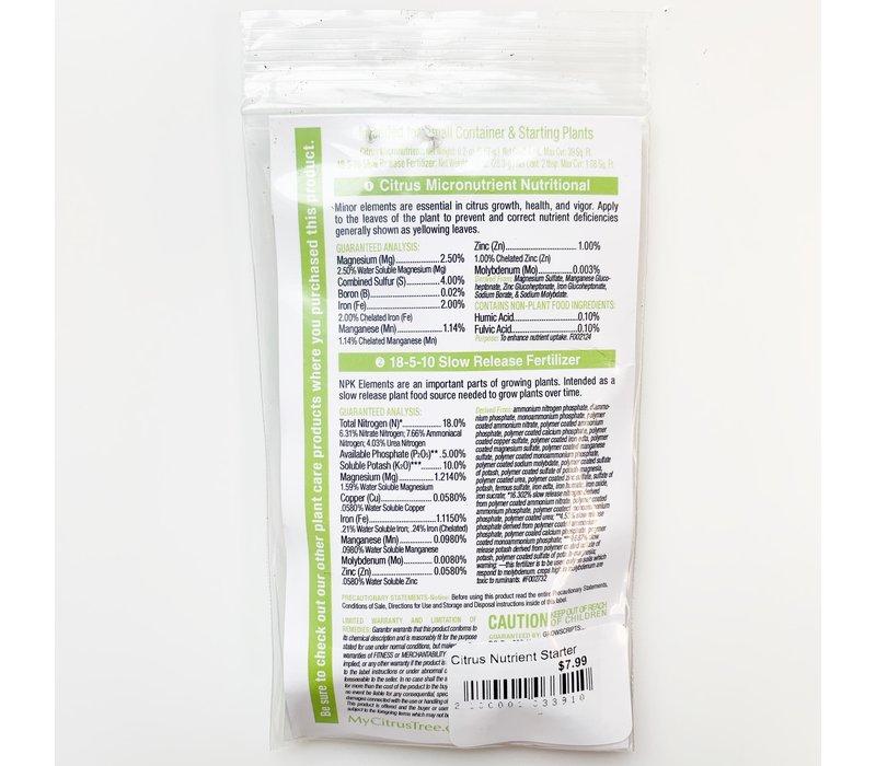 Citrus Nutrient Starter