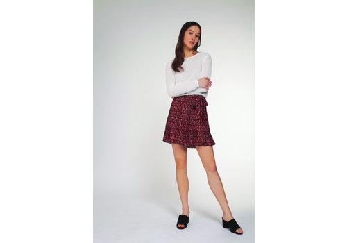 Dex Floral Pleated Skirt