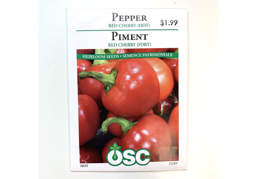 OSC Peppers Red Cherry Hot Seeds
