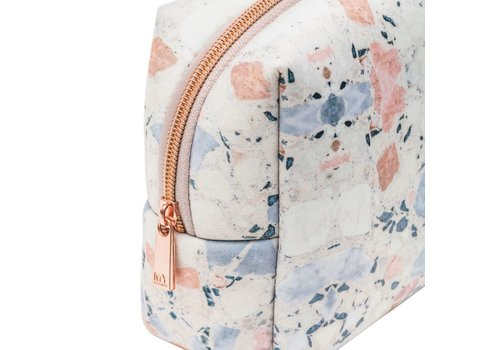 MyTagAlongs Terrazzo Cosmetic Pouch