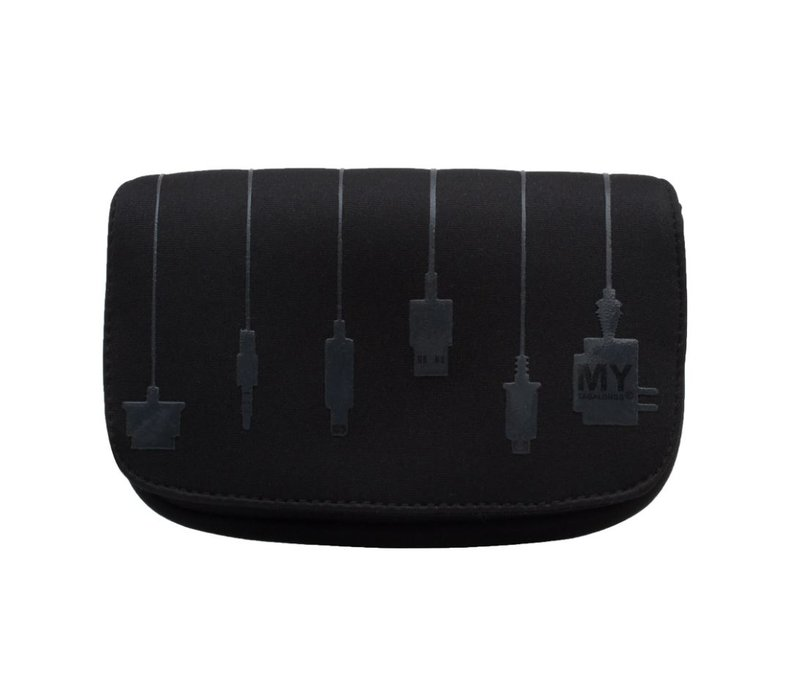 Plug In Charger Case Silicone Black