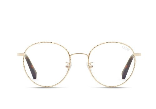 Quay Australia I See You Glasses Gold Rope/Clear