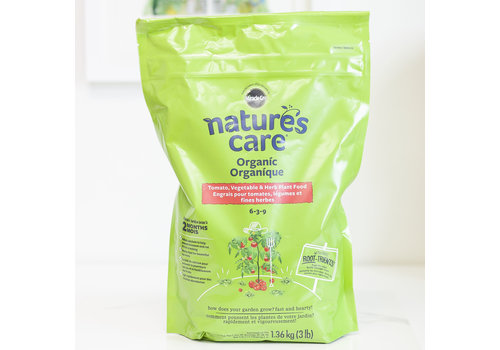 Miracle Gro Nature's Care Tomato, Vegetable and Herb Plant Food 6-5-9 1.36kg