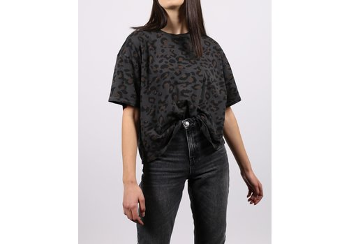 Brunette The Label Leopard Vintage Boxy Tee