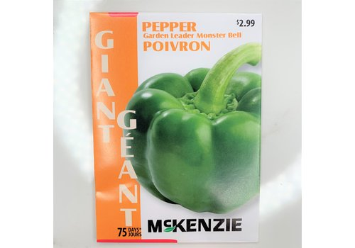 McKenzie Pepper Gdn Leader Monster Bell