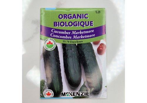 McKenzie Cucumber Marketmore Organic Seeds