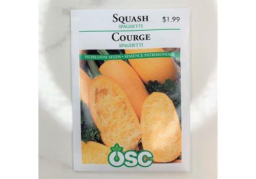 OSC Squash Spaghetti Seeds