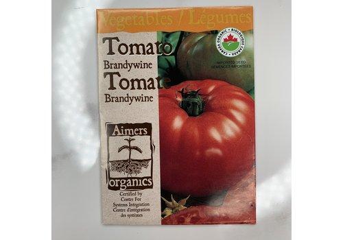 Aimers Organic Tomato Brandywine Seeds