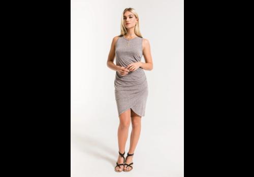 Z Supply Tri Blend Tulip Midi Dress