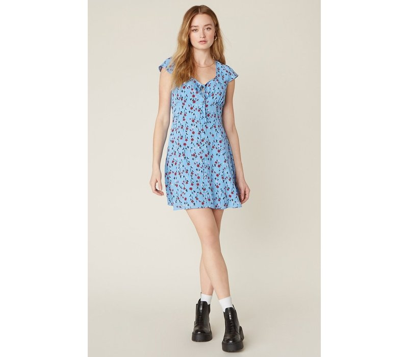 La Femme Morning Blue Dress