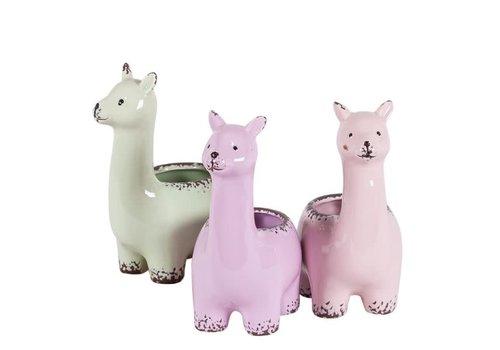 """Hill's Imports Alpaca Pottery 7.5"""""""